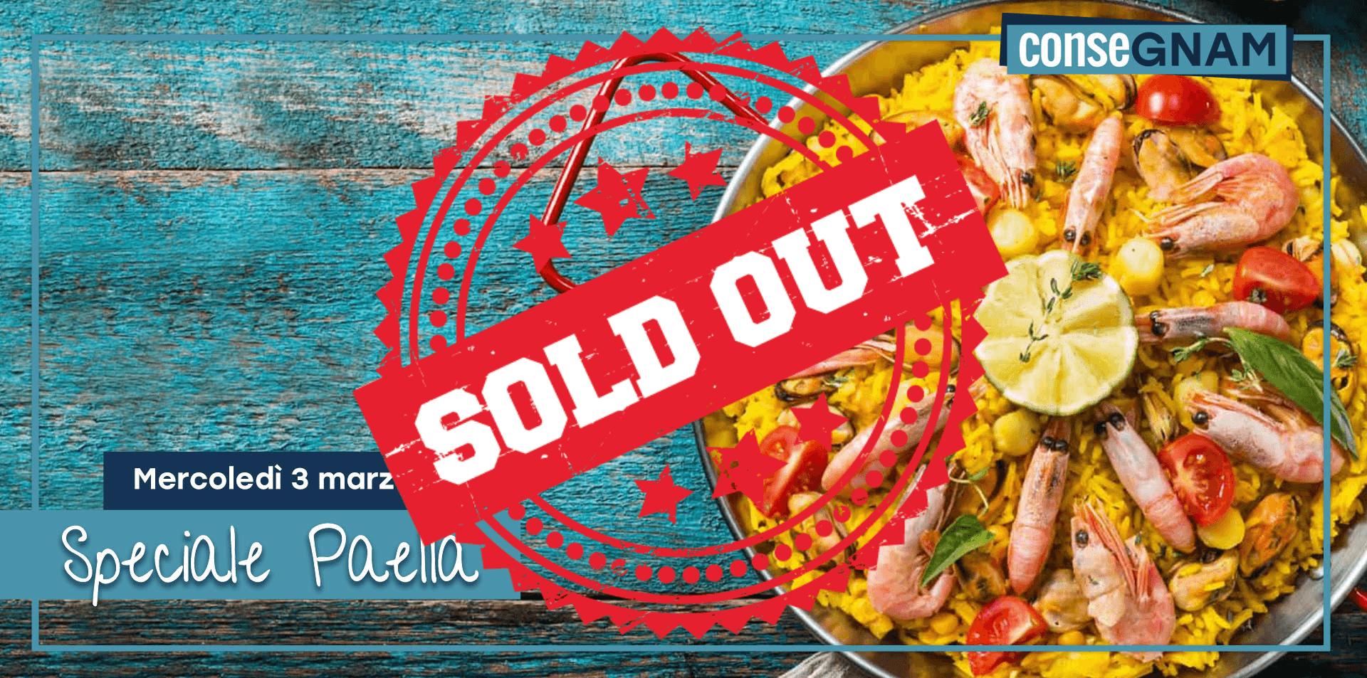 Speciale Paella di Pesce  ||  3 Marzo