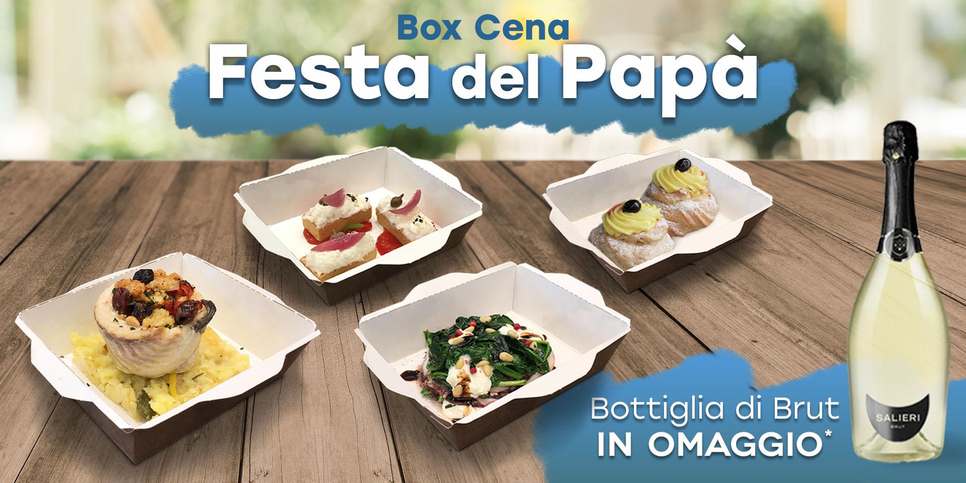 Box Cena Festa del Papà  ||  19 Marzo